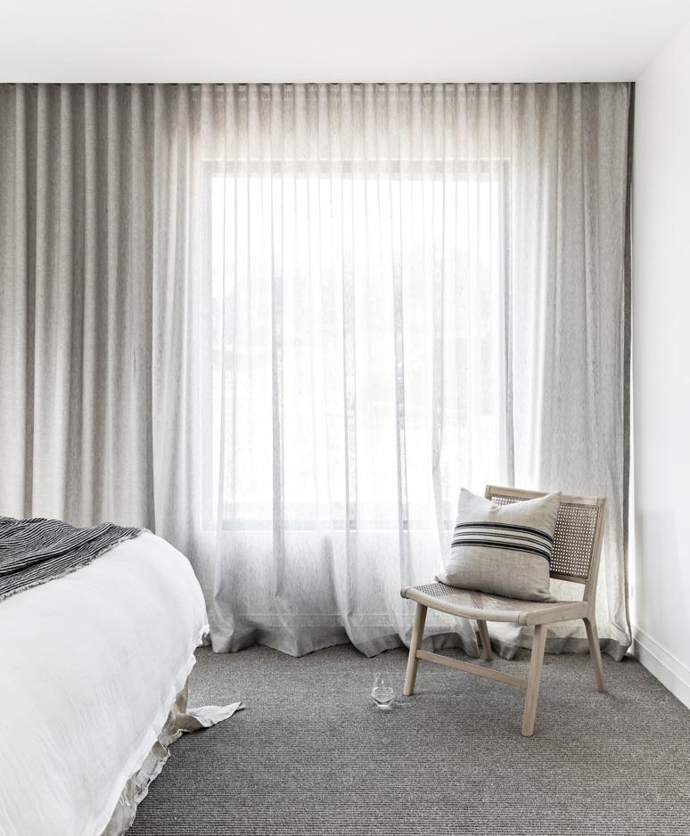 Three Gables bedroom2 sheer curtains webready